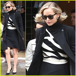 Karlie Kloss Had Hair Envy For Jennifer Lawrence