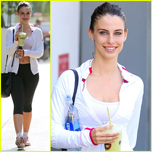 Jessica Lowndes Shares New Workout Videos On Instagram - Watch Here