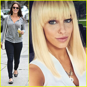 Jessica Lowndes Went Blonde for 'Hawaii Five-0' Episode