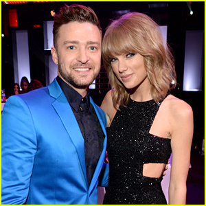 Taylor Swift Meets Up with Justin Timberlake at iHeartRadio Music Awards 2015