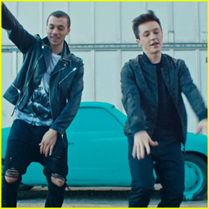 Kalin & Myles Release Super Fun 'Trampoline' Video - Watch Now!