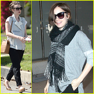Lily Collins Is Back in Los Angeles After Spending Few Days in Paris