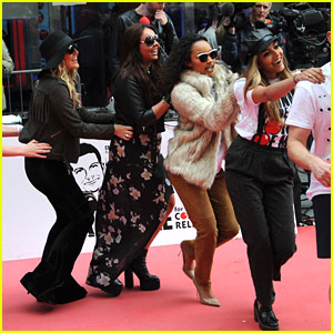 Little Mix Conga For Comic Relief - See The Fun Pics!