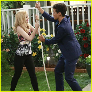Jordan Fisher & Audrey Whitby Guest Star on Tonight's 'Liv and Maddie' - See Pics!