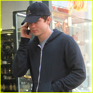 Logan Lerman Steps Out as 'Spider-Man' Rumors Continue to Heat Up
