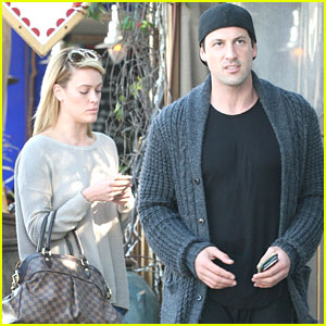 Peta Murgatroyd Lunches With Maksim Chmerkovskiy After 'DWTS' Practice with Michael Sam