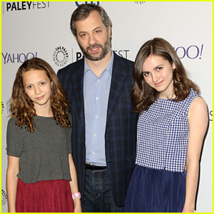Maude Apatow Supports Her Dad Judd at the 'Girls' PaleyFest Panel!