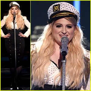 Meghan Trainor Performs 'Dear Future Husband' for iHeartRadio! (Video)