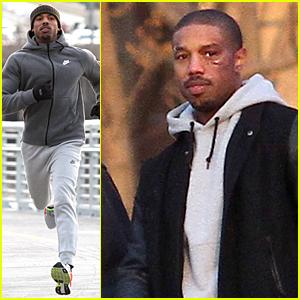 Michael B. Jordan's Face Looks Pretty Beat Up On 'Creed'