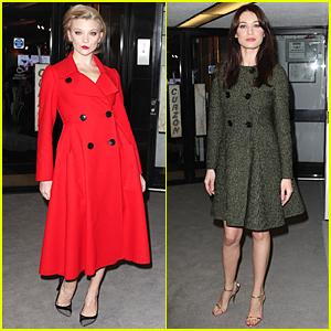 Natalie Dormer Looks Red Hot at 'Dior & I' UK Premiere