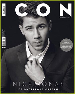 Nick Jonas Looks So Handsome on 'Icon' Magazine Cover