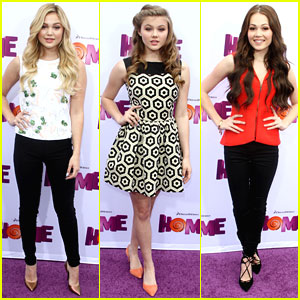 Olivia Holt & Kerri Medders Find Their Way To The 'Home' Premiere