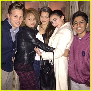 Paris Berelc Hangs With Rowan Blanchard & 'Invisible Sister' Cast Before Dropping Alex & Sierra Cover Video - Watch Here!