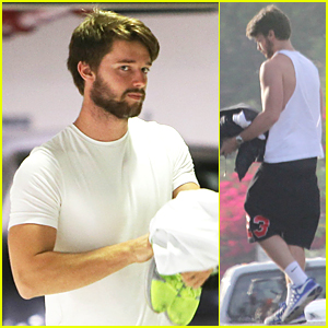 Patrick Schwarzenegger Works Out Following Dinner Date With Miley Cyrus