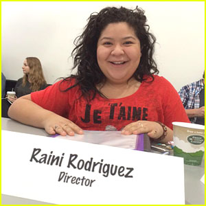 Raini Rodriguez Is Directing 'Austin & Ally' This Week!