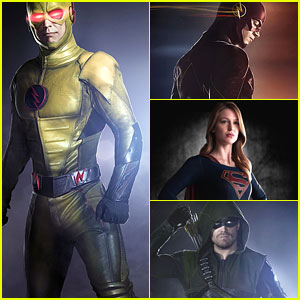 Who Has The Best Super Hero Suit - SuperGirl, Arrow Or The Flash? Vote Here!