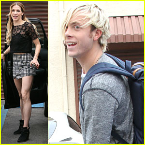 Riker Lynch Hits Dance Practice After Crashing Sister Rydel's Tea Party
