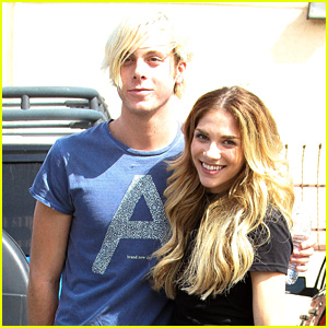 riker lynch allison holker kick off final week of dwts pre