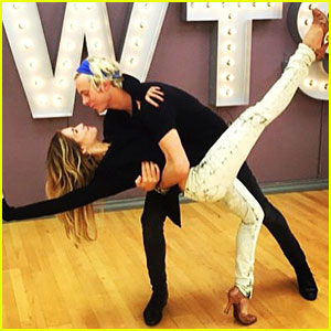 Riker Lynch & Allison Holker Will Foxtrot To Maroon 5's 'Sugar' on 'DWTS'