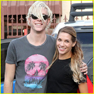 Riker Lynch & Allison Holker Give Shout Out To Team Rallison Fans