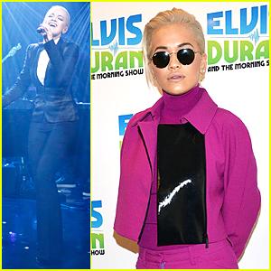Rita Ora's 'New York Raining' Performance Is Amazing on 'Elvis Duran Show' - Watch Now!