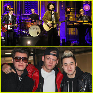 Rixton Perform 'Hotel Ceiling' on 'Fallon' - Watch Here!