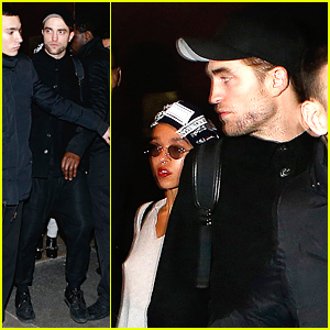 Robert Pattinson & FKA twigs Wrap Up Their Night In Paris