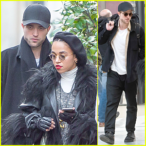 Robert Pattinson Tags Along With FKA twigs Before Her Paris Concert