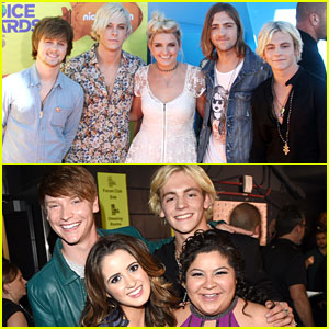 Ross Lynch & Raini Rodriguez Brought The Whole Family To The Kids Choice Awards 2015