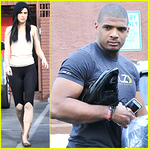 Rumer Willis & Michael Sam Show Off Fit Physiques at 'DWTS' Rehearsal