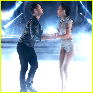 Rumer Willis & Val Chmerkovskiy Cha Cha on 'DWTS' - Watch Now!