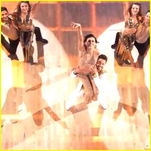 Rumer Willis & Val Chmerkovskiy Salsa on 'DWTS' - Watch Now!