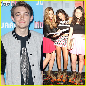 Dylan Riley Snyder Throws It Back With Monster High & JJJ After 'Kickin' It's Series Finale
