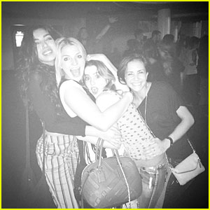 Rydel Lynch & Laura Marano Hit Walk The Moon Concert Together; Rocky Lynch Photo Bombs Them!