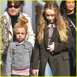 Sabrina Carpenter & Mallory James Mahoney Head For More 'Adventures in Babysitting' In Vancouver