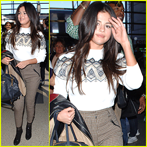 Selena Gomez Thanks Beautiful Pastors Before LAX Departure