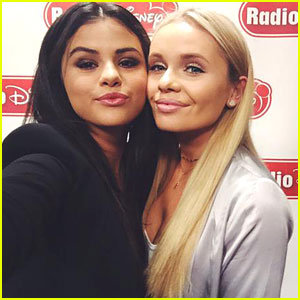 Selena Gomez Stops By The Alli Simpson Show on Radio Disney - See Pics!