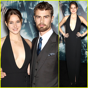 Shailene Woodley Rocks 'Insurgent' Red Carpet with Theo James!