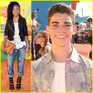 Skai Jackson & Cameron Boyce Bring 'Jessie' To Kids Choice Awards 2015