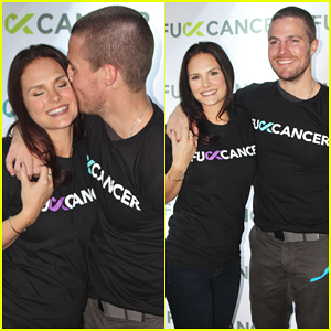 Stephen Amell Hosts Cancer Charity Event in Vancouver!