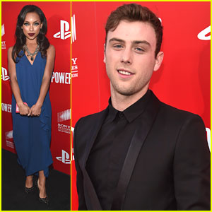 Sterling Beaumon Dishes On 'Powers' Character After Premiere Party with Logan Browning