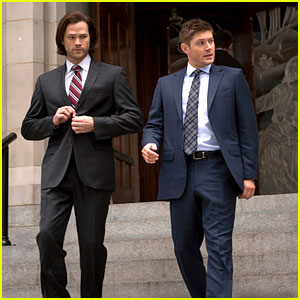 'Supernatural's Sam & Dean Investigate Suicides On Tonight's Ep - See The Pics!