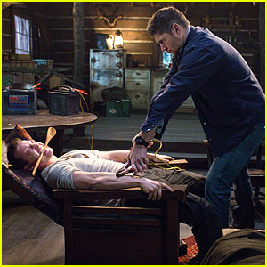 'Supernatural' Is Back & Dean Is Already Torturing People - See The Pics!
