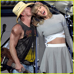 Taylor Swift Brings Calvin Harris to Kenny Chesney Concert (Video)