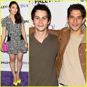Dylan O'Brien & Tyler Posey Buddy Up for 'Teen Wolf' PaleyFest Panel!