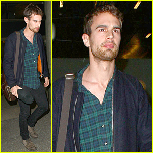 Theo James Admits Getting Strange Gifts From Fans