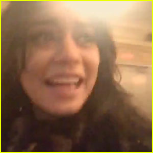 Vanessa Hudgens Reacts In The Best Way Possible To Being on Broadway - Watch Here!