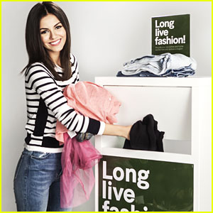 Victoria Justice Speaks Up For DoSomething.org's Comeback Clothes Campaign