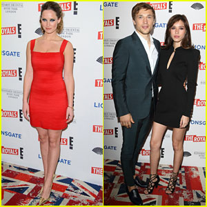 William Moseley Brings Girlfriend Kelsey Chow To 'The Royals' Premiere in London