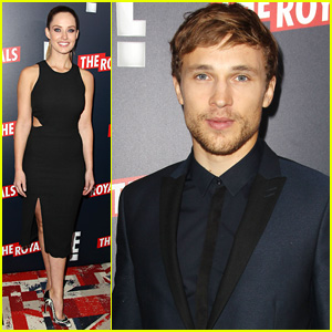 William Moseley & Merritt Patterson Premiere 'The Royals' in NYC